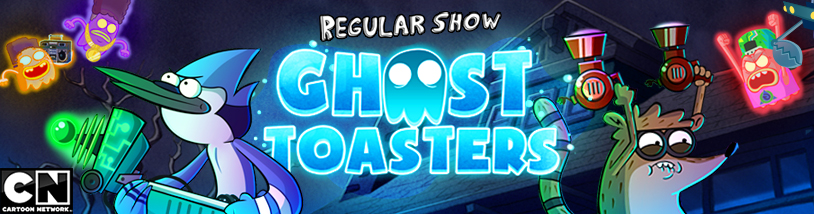 Regular Show - Ghost Toasters for iOS